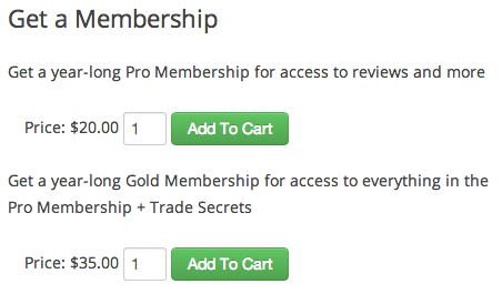 Sell with WordPress | Cart66 Purchase Subscriptions