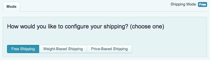 Sell with WordPress | Cart66 Shipping Options