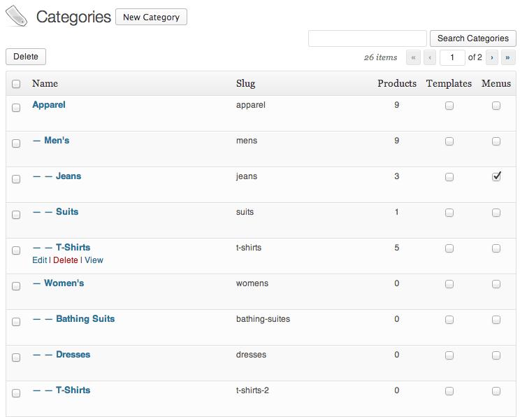 Sell with WordPress   Shopp Catalog Setup