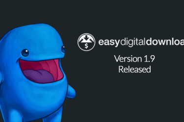 Sell with WordPress | Easy Digital Downloads 1.9