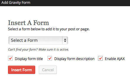 Sell with WP Gravity Forms Review | Inserting forms