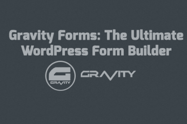 Gravity Forms: Ultimate WordPress Form Builder | Sell using WordPress