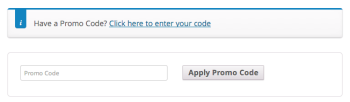 Have a Promo Code?