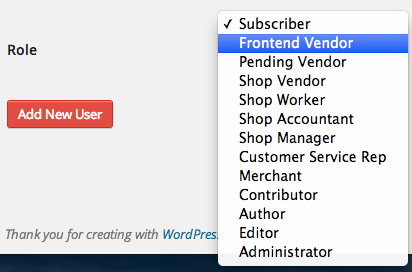 Sell with WP Digital Goods Marketplace   FES User Roles
