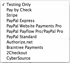 Paid Memberships Pro Review | Available Gateway Integrations
