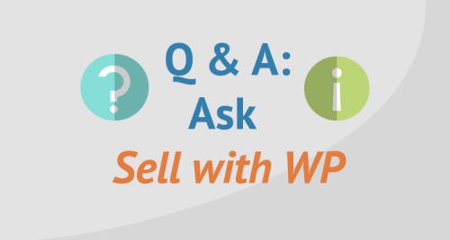 Ask Sell with WP | sellwithwp