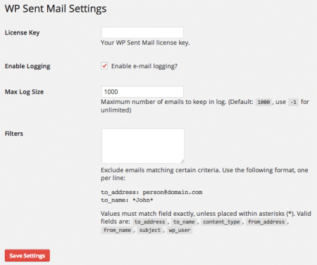 Sell with WP | WP Sent Mail Review: Settings