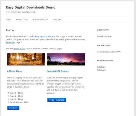 Selz vs Easy Digital Downloads | EDD Catalog