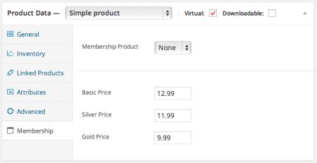 Paid Memberships Pro WooCommerce members pricing