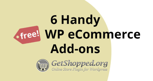 Free WP eCommerce Add-ons