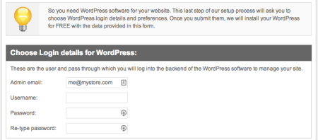 SiteGround Review | WordPress setup wizard