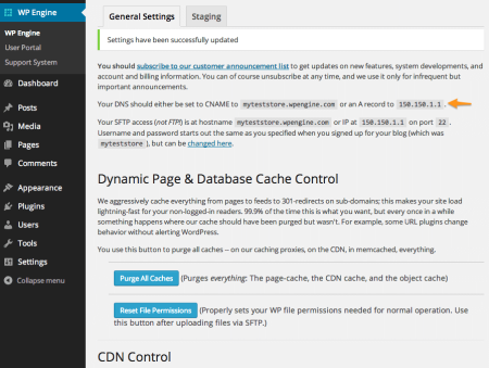 WP Engine Review   WPE Plugin