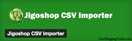 Free Jigoshop Extensions | CSV Product importer