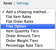 Shopp add Free Shipping Option