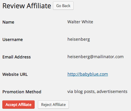 AffiliateWP Review | New Affiliate