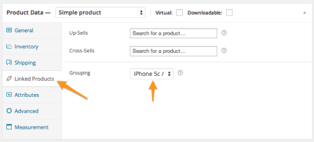 WooCommerce add product to group