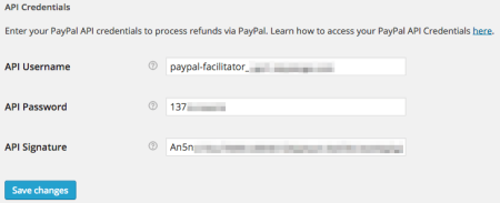 WooCommerce 2.2 PayPal Settings
