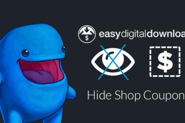 Easy Digital Downloads Hide coupons