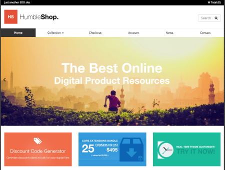 Humbleshop | Best Easy digital downloads themes