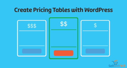 Pricing Tables with WordPress