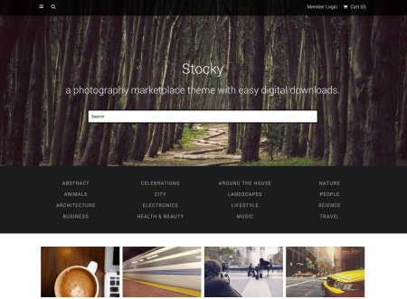 Stocky | best Easy Digital Downloads themes