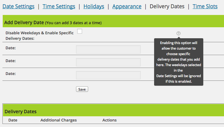 module - Delivery Date - Smart Date Of Delivery - 10