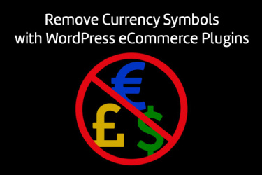 Remove Currency Symbol
