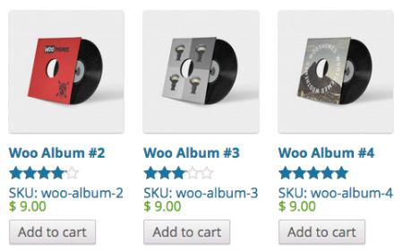 WooCommerce Jetpack Product Listings