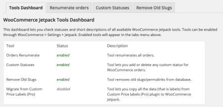 WooCommerce Jetpack Tools