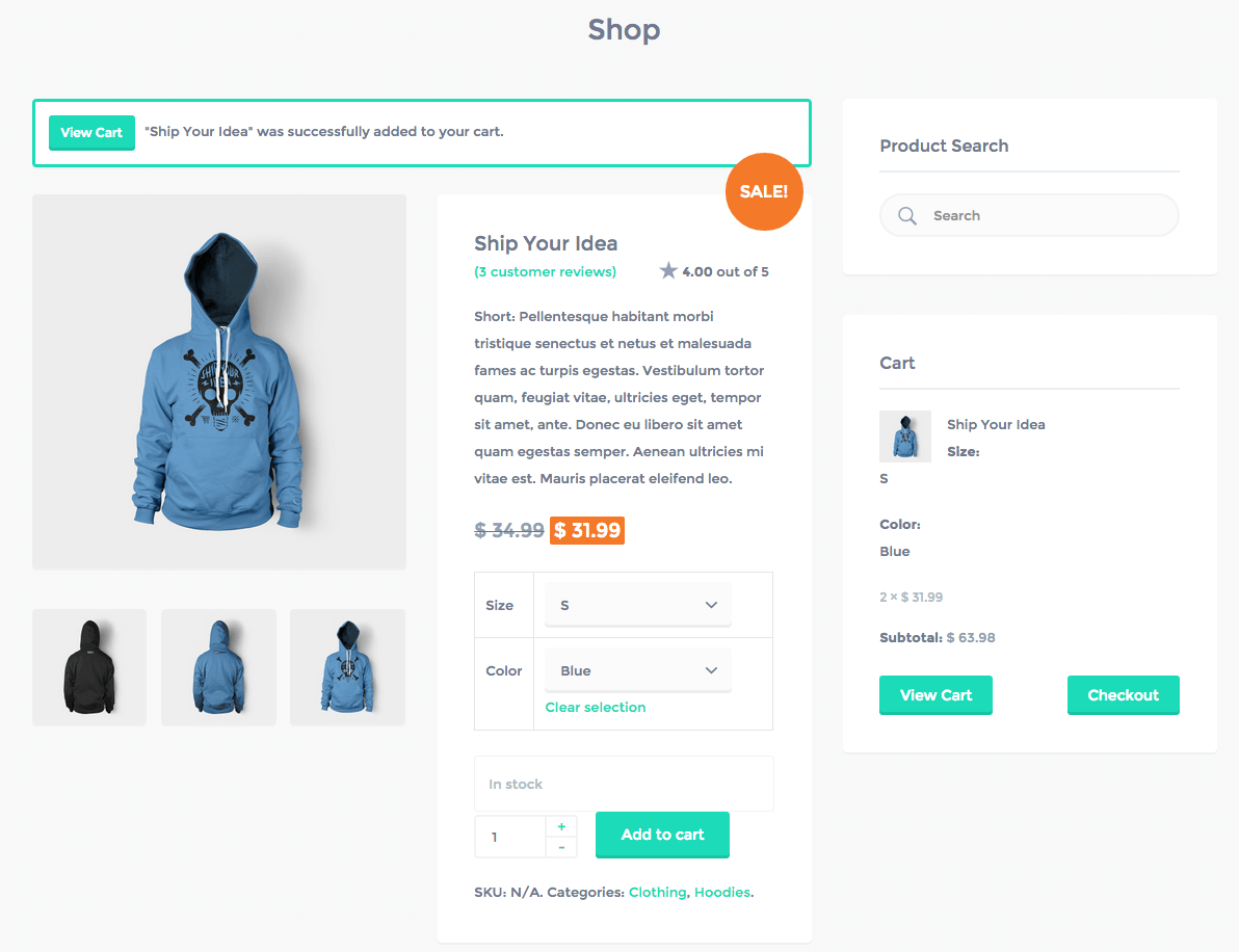 how to show products on page woocommerce