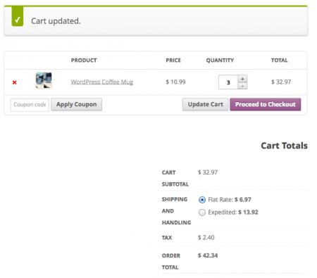 WooCommerce Shipping Classes   per order