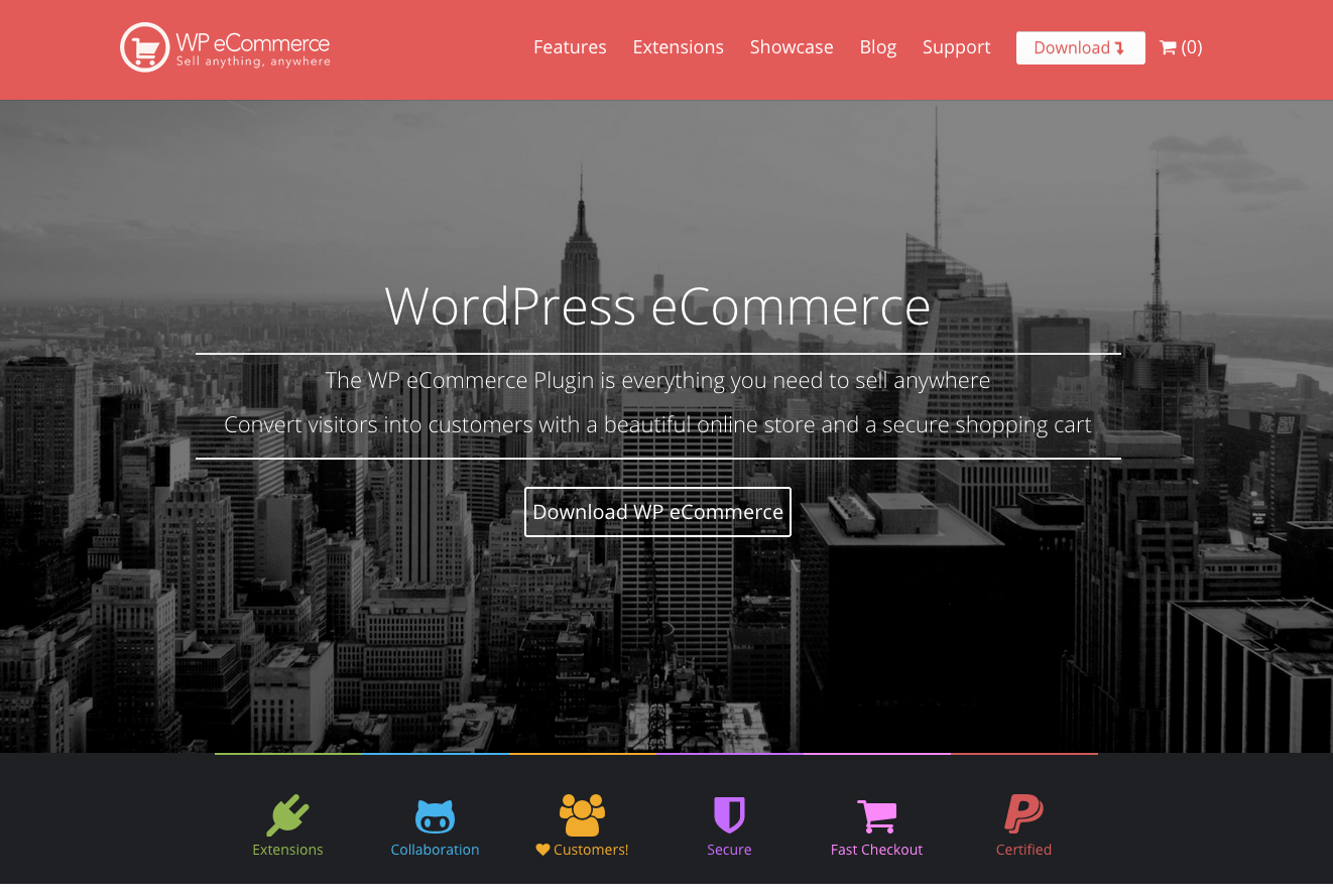 wp ecommerce 3 9 rebrand - 5 Best Free WordPress Ecommerce Plug-ins