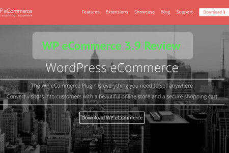 WP eCommerce 3.9 Review