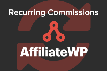 Pay Affiliates Recurring Commissions