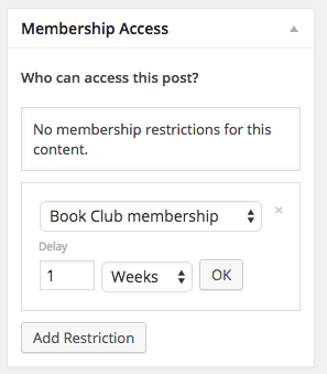 iThemes Exchange Purchasing Club: restricting content