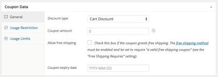 WooCommerce 2.3 Review: 2.3 coupons