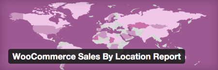 WooCommerce sales by location report