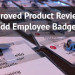Product Reviews Employee Badges