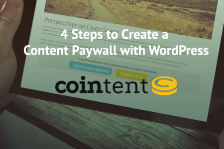 Cointent: Content Paywall with WordPress