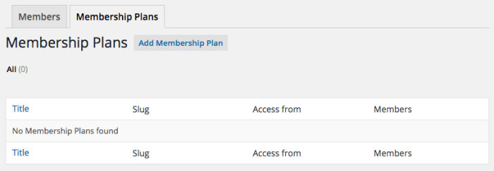 WooCommerce Memberships Review: create a plan