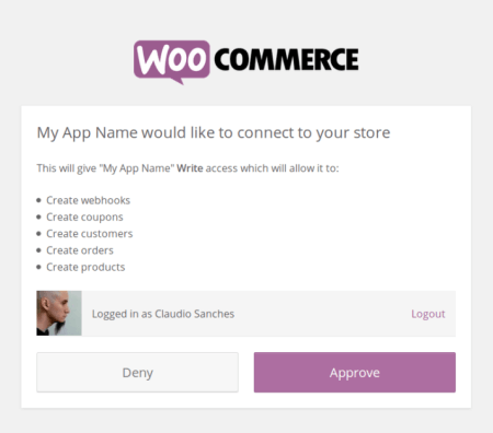 WooCommerce 2.4 Review: visual auth