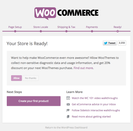 WooCommerce 2.4 Review: wizard step 6