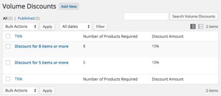 Easy Digital Downloads Tiered Discounts