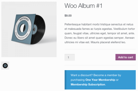 WooCommerce Purchasing Club:  discount available