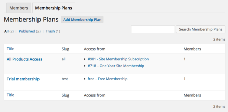 WooCommerce Purchasing Club: memberships