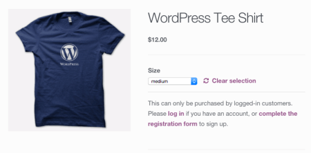 WooCommerce Purchasing Clubs: Catalog Visibility - purchase disabled