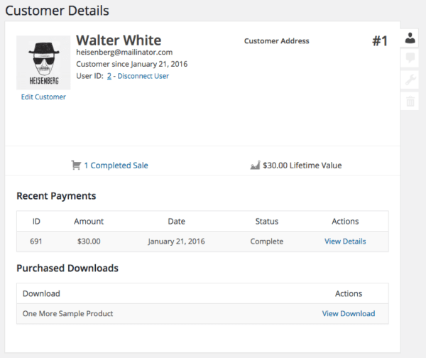Easy Digital Downloads 2.6 Review: EDD 2.5 customer view