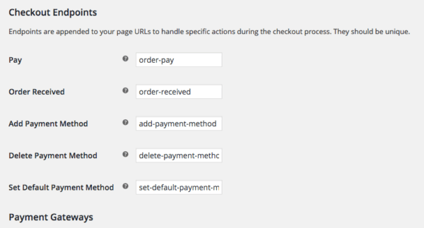 WooCommerce 2.6 Review: WooCommerce 2.6 checkout settings