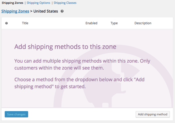 WooCommerce 2.6 Review: view a zone
