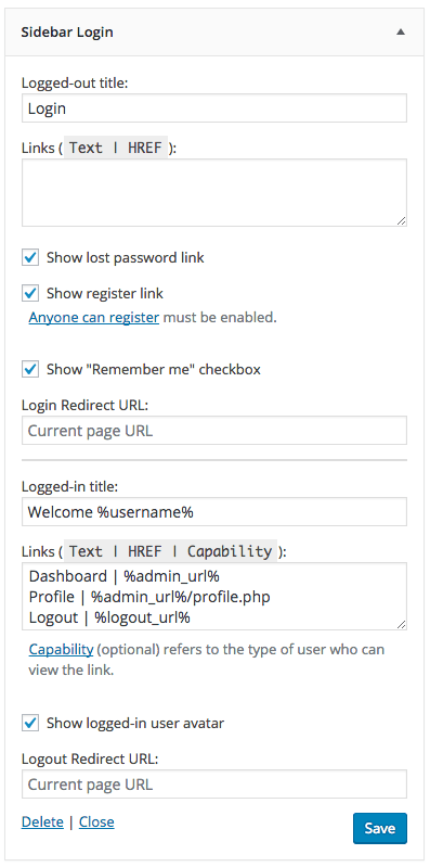 how to create a website with member login